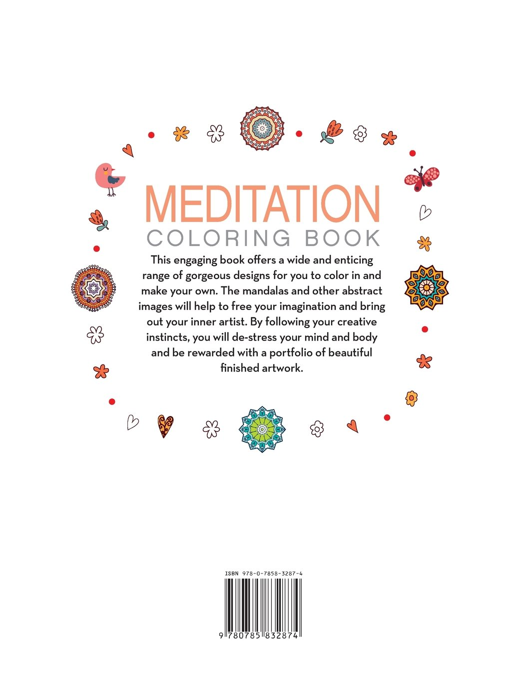 meditation coloring book wonderful images to melt your worries