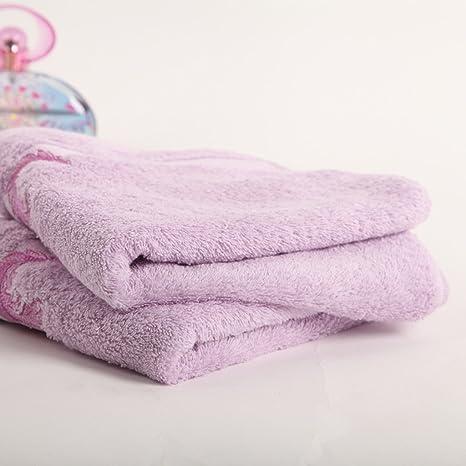 ZHAS Toallas de baño de algodón de Easy Care adulto aumentar la parte superior del tubo