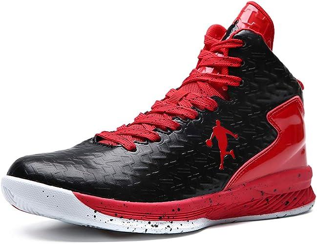 Qianliuk Männer Basketball Schuhe High Top Dämpfung Licht Anti Skid AtmungsAktive Outdoor Sportschuhe Man Sneakers