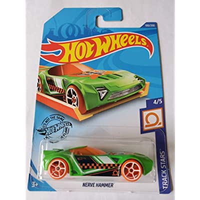 Hot Wheels 2020 Track Stars Nerve Hammer, Green 100/250: Toys & Games