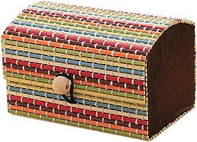 Finance Plan Creative Bamboo Wooden High Capacity,Cute Jewelry Box Storage