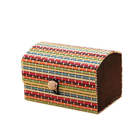 Amazon.com: Finance Plan Creative Bamboo Wooden High Capacity,Cute Jewelry Box Storage: Home & Kitchen