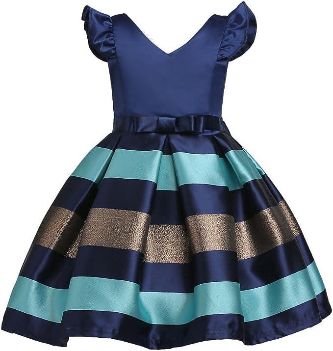 Vestiti Eleganti Bimba 3 Anni.Bambine Dress Senza Maniche Principessa Abiti Eleganti Bambina