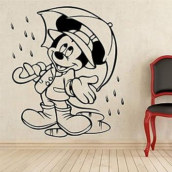 hzcl Nuevo Y Creativo Mickey Mouse Paraguas Custom Kids Nombre ...