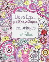 Dessins, gribouillages et coloriages pour les filles