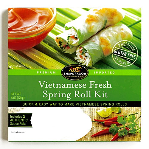 Price comparison product image Snapdragon Vietnamese Spring Roll Kit 6 oz each (1 Item Per Order)