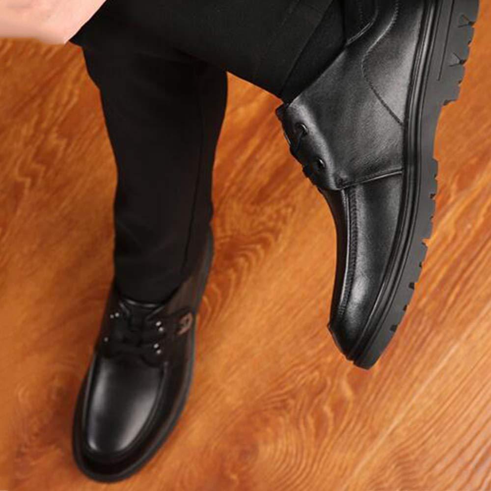 Snfgoij Herren Kleid Schuhe Schuhe Schuhe Schwarz Formale Geschäft Wies Klassische Schnürschuhe Leder Herbst Und Winter Freizeit-und Freizeitschuhe 8545b5