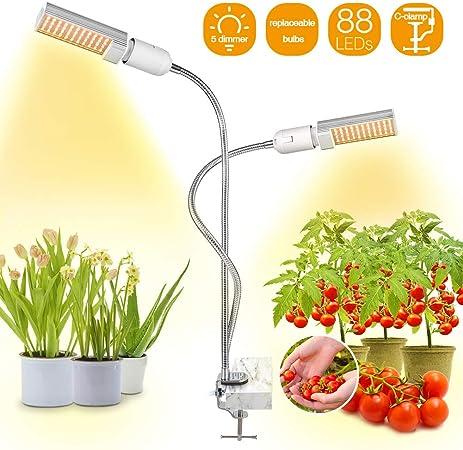 Amazon Com Bozily Led Grow Lights For Indoor Plants Full