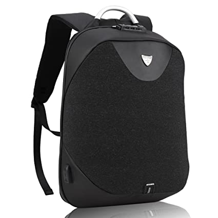 6f9b257e0f6 Anti Theft Laptop Backpack - Arctic Hunter Waterproof Backpack with USB  Charging Port for 15.6   Laptop