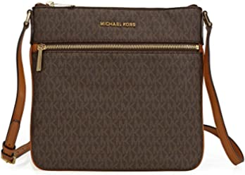 6d9cf4870ad MICHAEL Michael Kors Bedford Signature Flat Cross-Body Bag