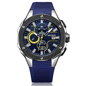 WERTY&K Reloj Deportivo Digital para Hombres Reloj De Pulsera Vestido De Negocios Casual - Aire Libre