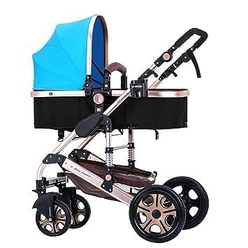 Amazon.es: HSDDA Carro de bebé Ligero Cochecito de bebé ...