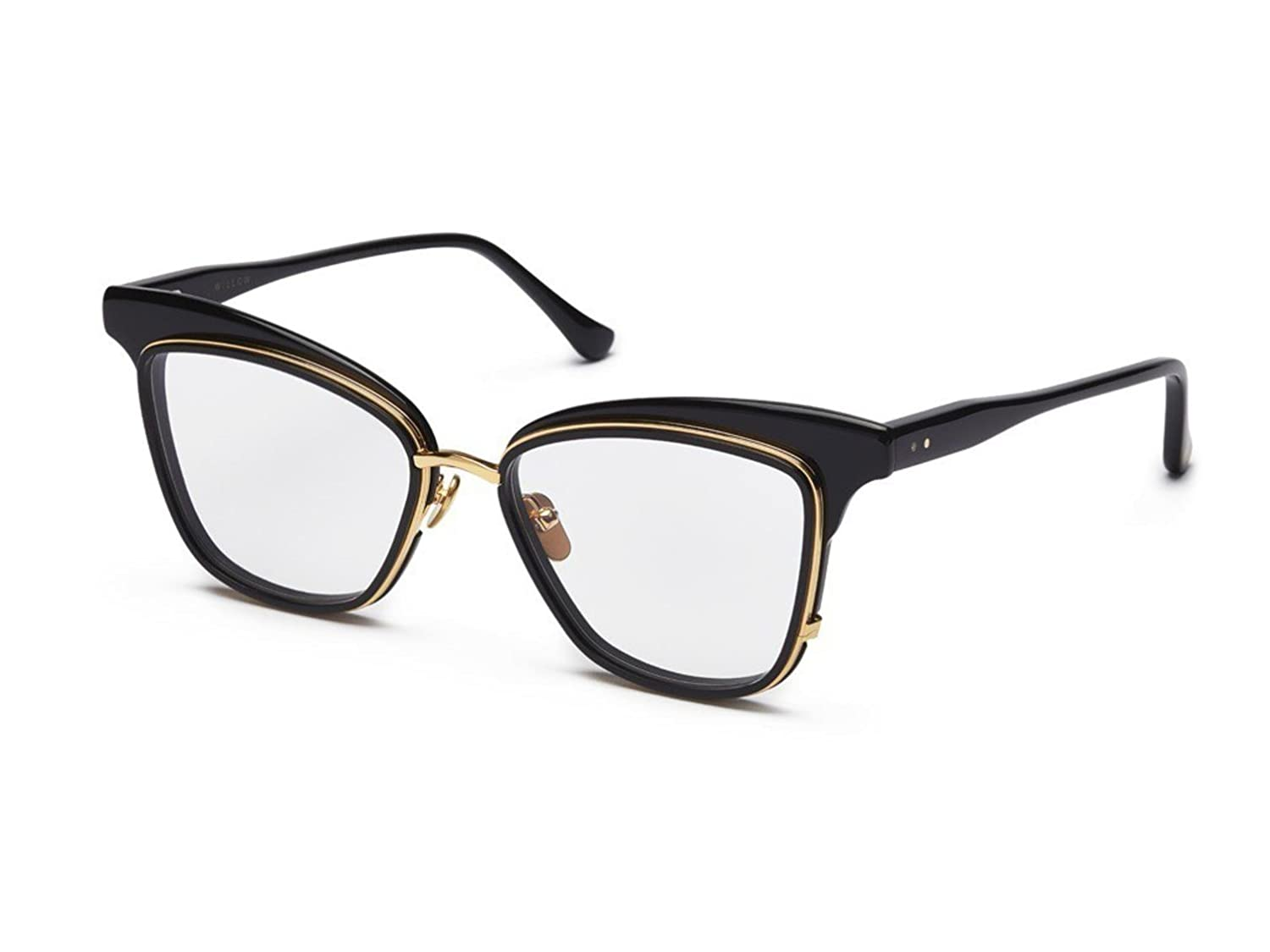 121379294cb Eyeglasses Dita WILLOW DRX 3040 A-BLK-GLD Black-18K Gold at Amazon Men s  Clothing store