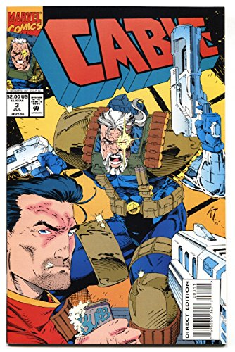 CABLE #3 comic book 1st appearance of WEASEL Deadpool movie 1993]()