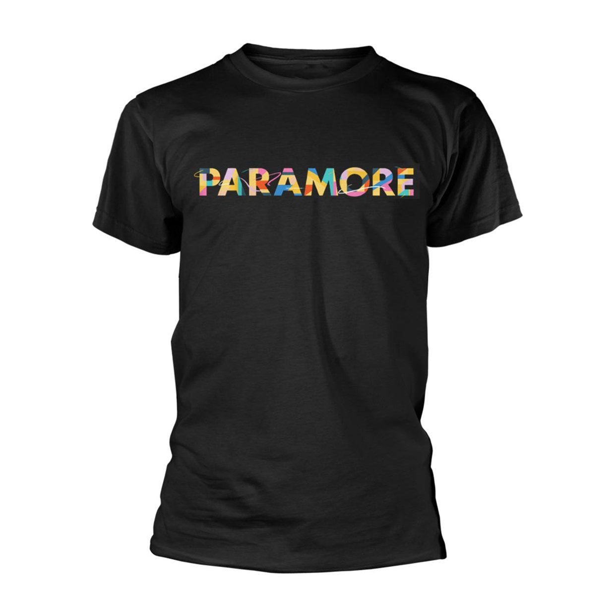 Amazon.com: Paramore Unisex-Adults Official Colour Swatch T Shirt (Black): Clothing