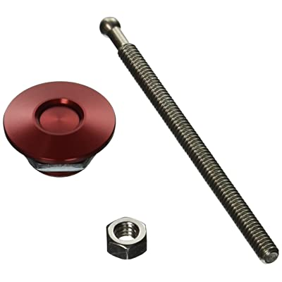 Quik-Latch Products QL-25-ACRD Red Anodized Aluminum Mini Replacement Air Cleaner Wingnut Kit: Automotive