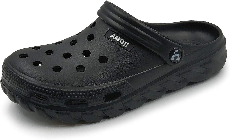 | Amoji Unisex Garden Clogs Shoes AM1521 | Mules & Clogs