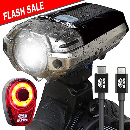 BLITZU Gator Rechargeable Bike Light product image