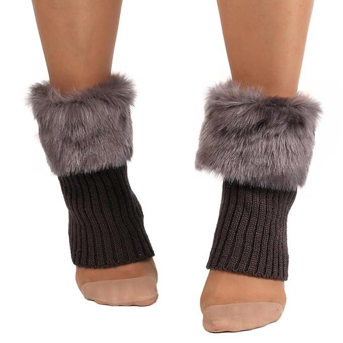 Calcetines,RETUROM La nueva manera de las mujeres calientes del invierno Calcetines Calentadores de piernas