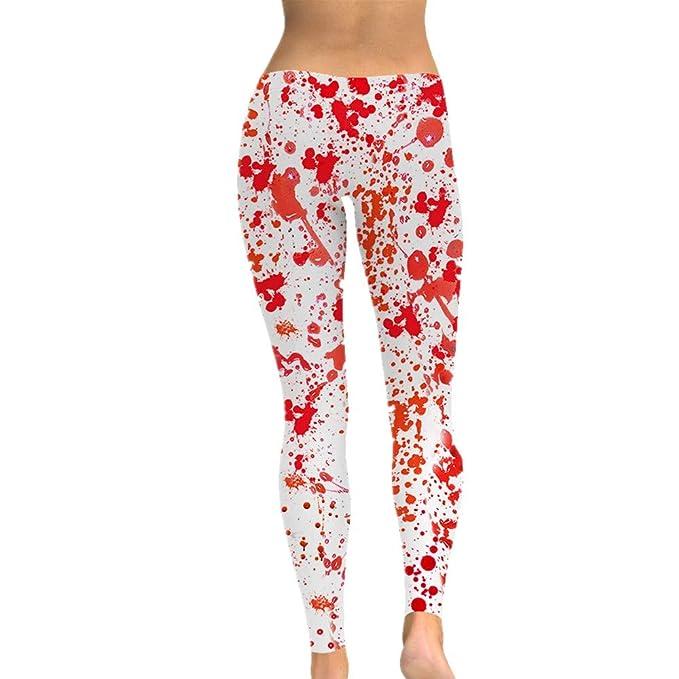 SXZG Elegantes Pantalones De Yoga con Estampado Retro para Mujer ...