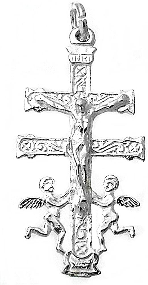 Caravaca Cross silver 35mm 925m Act. 7813