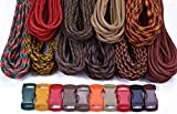 BoredParacord Brand Paracord Starter Kit - Autumn Combo Kit