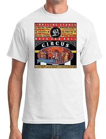 66f9bb8b Rolling Stones Rock n Roll Circus 68 - DTG Print Mens T-Shirt:  Amazon.co.uk: Clothing