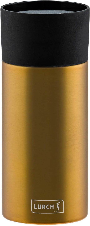 Thermobecher 0,3 l Edelstahl Lurch 240982 Isolier-Becher mit Einhandbedienung