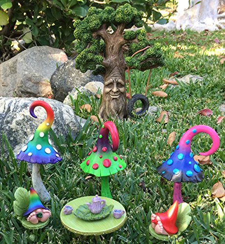 Glitzglam Miniature Baby Gnomes 7 Pack Collection The Adorable Baby Gnomes For The Fairy Garden That Garden Fairies Love
