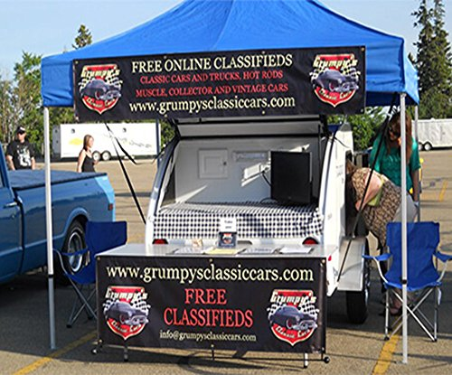 Custom Canopy Tents 10 x 10' print with hardware by BannerBuzz