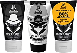 product image for Friction Labs Secret Stuff Liquid Chalk - Original, Alcohol Free and New Sanitizing Hygienic Formulas - Trusted by 100+ Pro Athletes in Weight Lifting, Rock Climbing, Gymnastics & More