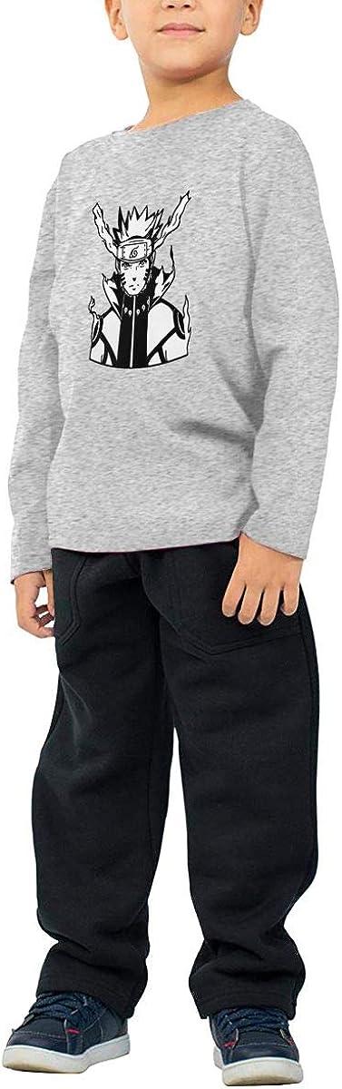 GongCZL Geek Naruto T-Shirt for Baby Boys Girls Black
