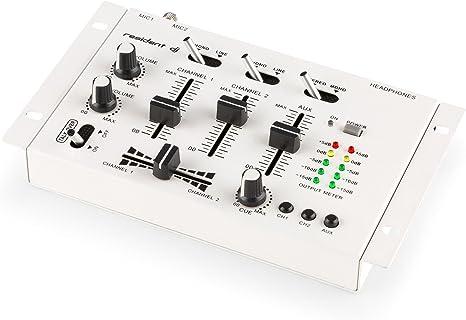 Auna TMX-2211 - Mesa de mezclas de 3/2 canales para DJ: Amazon.es ...