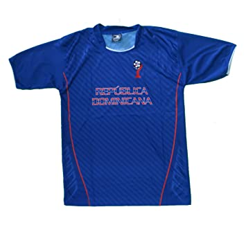 new products 51584 10f8b DOMINICAN REPUBLIC SOCCER JERSEY SIZE LARGE .NEW: Amazon.co ...