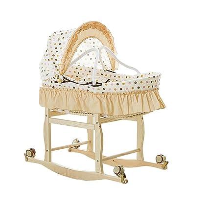0-1 años Moisés Cesta bebé Cuna/cesta para dormir Cama bebé recién ...