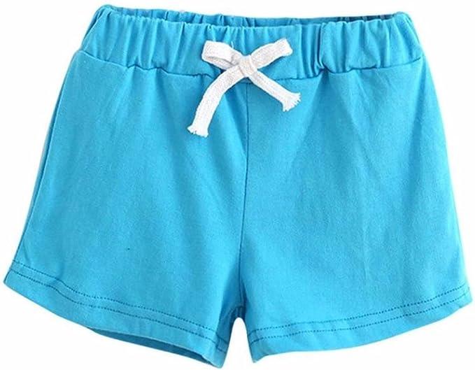 Gusspower Verano Niños Pantalones Cortos de Algodón Niños y Niñas ...