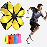"Kofun Hot Speed Running Power 56"" Sports Chute Resistance Exercise Training Parachute Colors Randomly 1 Piece"