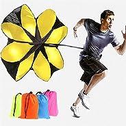 "Kofun Hot Speed Running Power 56"" Sports Chute Resistance Exercise Training Parachute Colors Randomly 1"