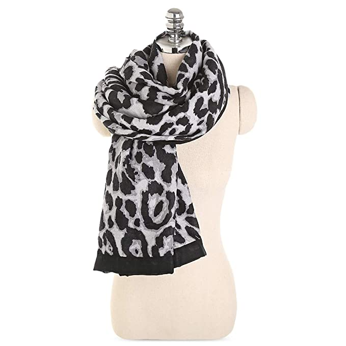 Image Unavailable. Image not available for. Color  EbuyChX Classic Leopard  Print Lightweight Women Long Wrap Shawl ... f62a1b328