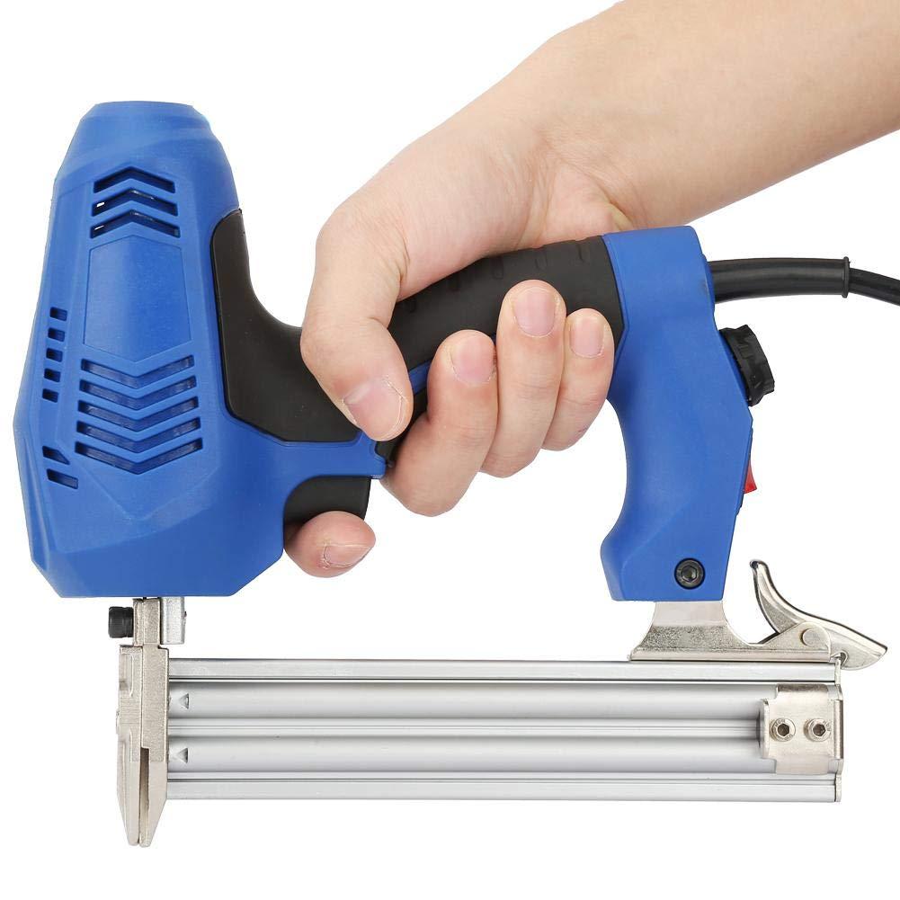 Elektrische Nagelpistole F30 2350W Hochleistungs-elektrische Nagelpistole Gerade Nagler Holzbearbeitung Hefter Pistole EU-Stecker 220V