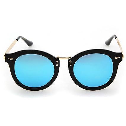 Peggy Gu Estilo retro del remache Decoración Señora gafas de sol polarizadas Marco completo Protección UV