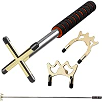 Qelate Retractable Pool Cue Stick with 3 Style Replaceable Bridge Head That Provide Bridge Play at Every Conceivable…