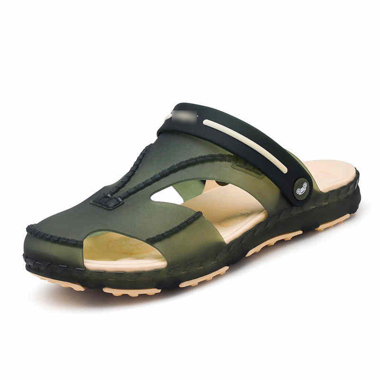Wonderful-Girls-Show Sandals Breathable Men Flip Flops Lightweight Massage Beach Non-Slide Slippers