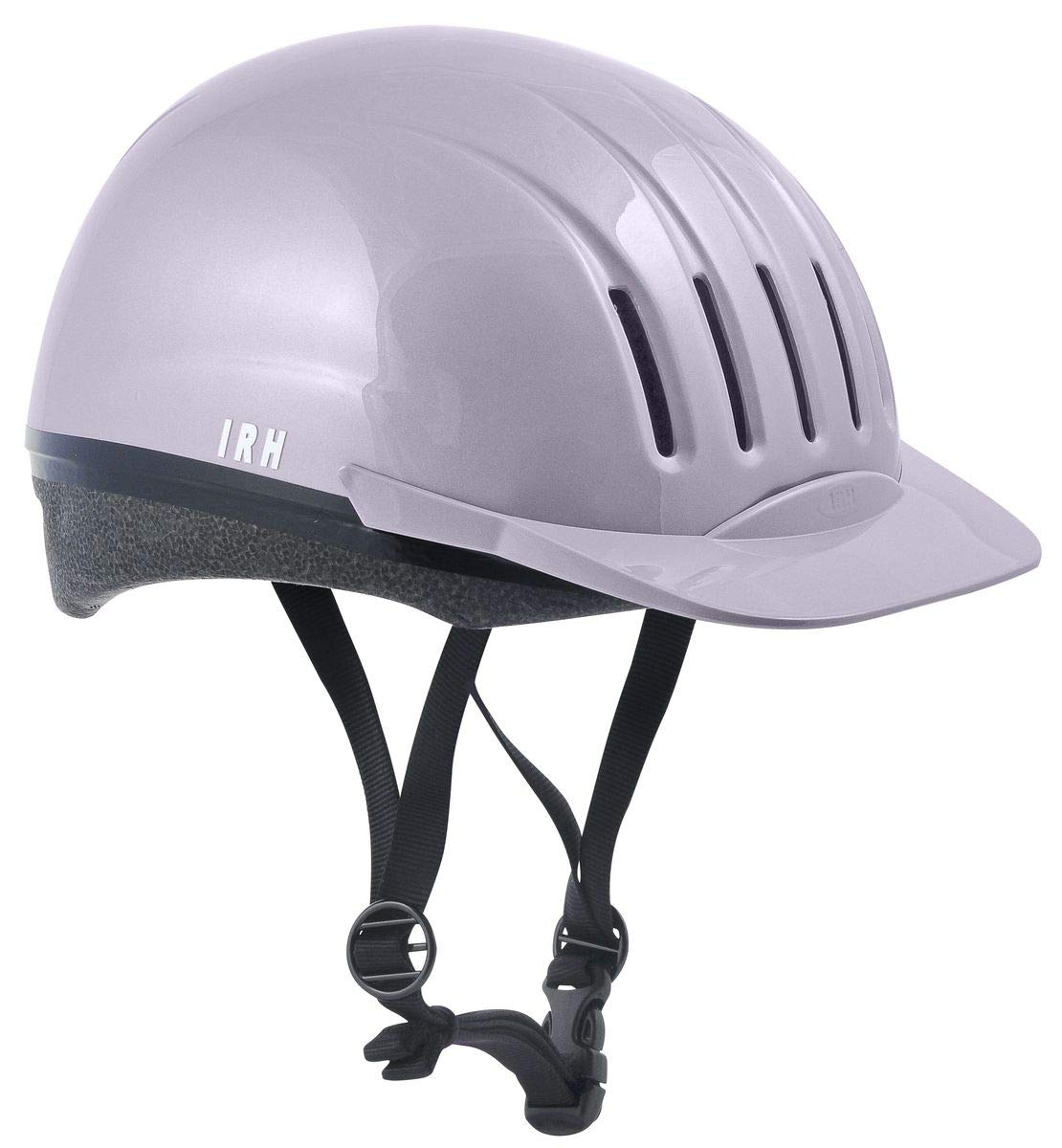 IRH INTERNATIONAL RIDING HELMETS Ultra-Lite Equi-Lite Fashion Color Helmet with Dial-Fit-System, Lavender, Large by IRH INTERNATIONAL RIDING HELMETS