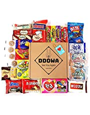 Korean Snack Box (22Type 25EA) Various Yummy Snacks Chips Cookies Candy Ramen Gift
