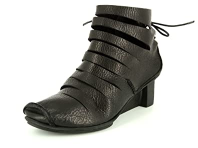 size 40 96457 66459 Trippen X+OS Fence Black Damen Stiefel in Mittel: Amazon.de ...