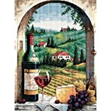 Dimensions Tuscan View Needlepoint Kit-12 Inch X 16 Inch by Dimensions