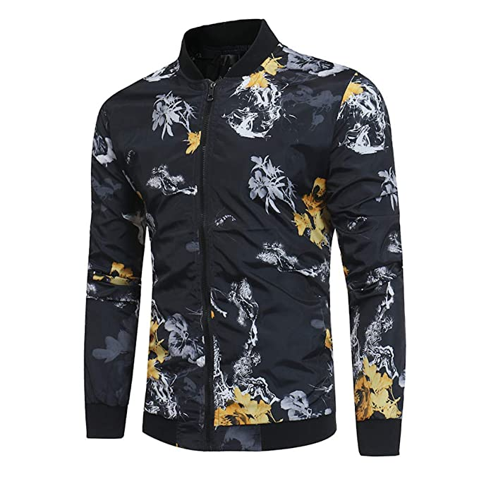 Amazon.com: DaySeventh Fashion Mens Autumn Winter Print ...