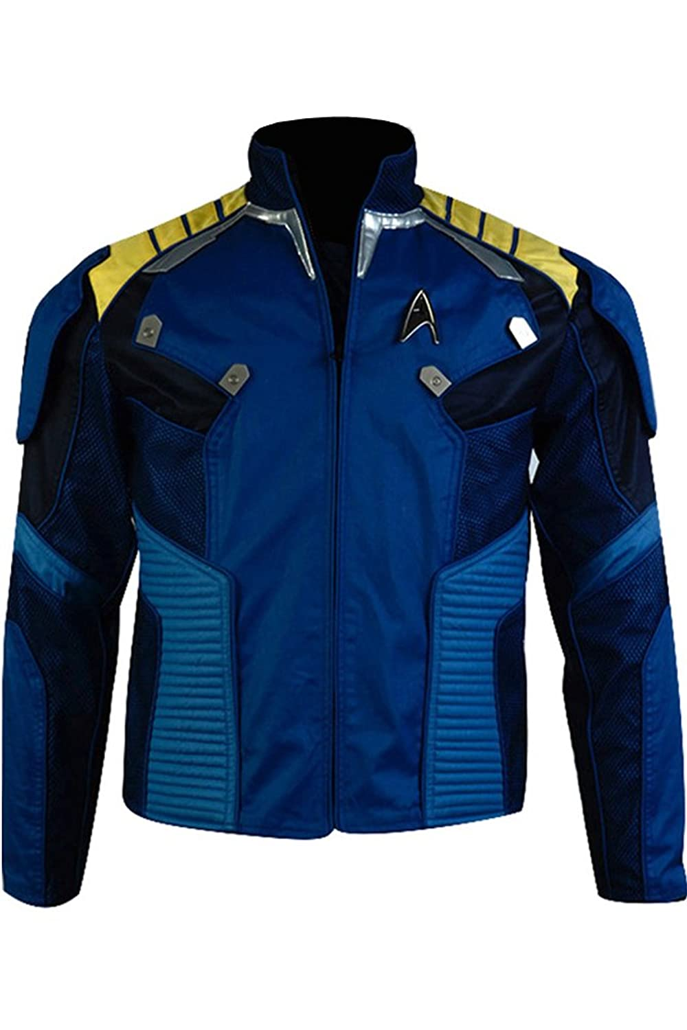 Star Trek Beyond Costume Captain Kirk Battle Jacket