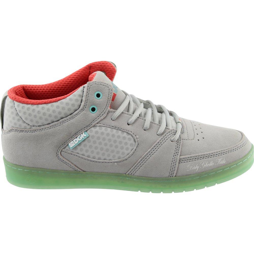 éS eS Sesla grey Skater Schuhe Sneaker grau